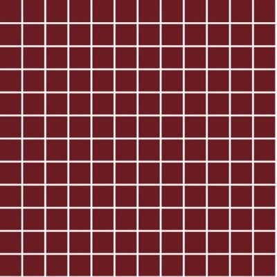 2.5x2.5 Color RAL 3004 Bordo Mozaik Mat  (DM)