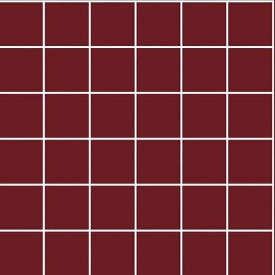5x5 Color RAL 3004 Bordo Mozaik Parlak  (DM)